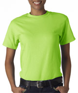 Lime Beefy T shirts Hanes Wholesale