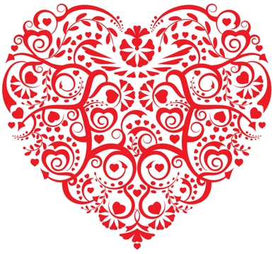 Heart Of Heart Small Free Machine Embroidery Design
