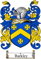barkley family crest coat of arms