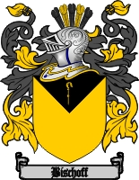 bischoff family crest coat of arms