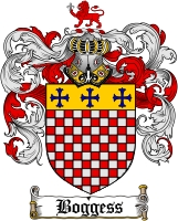 boggess family crest coat of arms