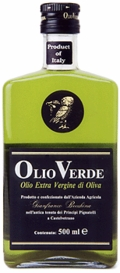 Olio Verde Extra Virgin Olive Oil, Case of 6