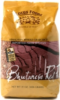 Lotus Foods Bhutanese Red Rice, Case of 6