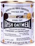 McCann's Steel Cut Irish Oatmeal, Case Of 6
