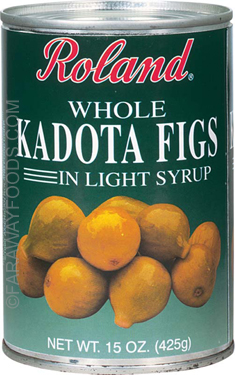 Roland Kadota Figs in Light Syrup, Case of 12 Cans