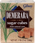 Gilway Demerara Sugar Cubes, Case of 5