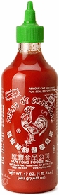 Sriracha Hot Chili Sauce by Huy Fong Foods, case of 12