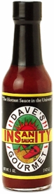 Dave's Gourmet Insanity Hot Sauces, 6 Pk