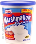 Solo Marshmallow Creme, Case Of 12