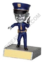 Police Officer BobbleHead Trophy