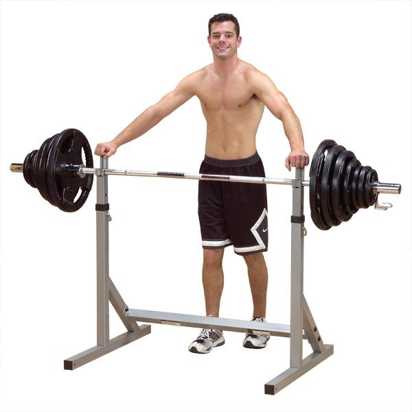 Body solid pss60x powerline squat stand for Squat rack set