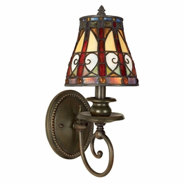 TFAV8701VB Quoizel Lighting Ava Wall Fixture with Vintage Bronze Finish