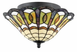 TFBE1713VB Quoizel Lighting Bethany Medium Semi Flush Mount