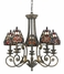 TFLI5005MP Quoizel Lighting Lily Chandelier in Masterpiece SPECIAL PRICING!!