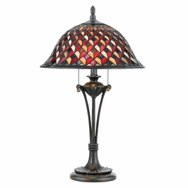 TFIU6326VA Quoizel Lighting Illusion Table Lamp