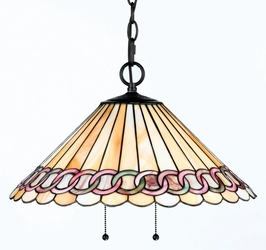 TFX19374A Quoizel Lighting Tiffany Pendant SPECIAL PRICING!!