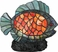 TFX465Y Quoizel Lighting Tiffany Accent Lamp with Finish