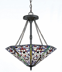 TFX19386A Quoizel Lighting Tiffany Pendant SPECIAL PRICING!!