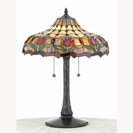 TFX419T Quoizel Lighting Tiffany Lamp SPECIAL PRICING!!