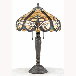 TFX427T Quoizel Lighting Tiffany Lamp SPECIAL PRICING!!
