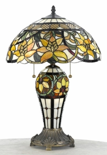 TFX444T Quoizel Lighting Tiffany Lamp SPECIAL PRICING!!