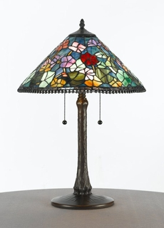 TFX585T Quoizel Lighting Tiffany Lamp SPECIAL PRICING!!