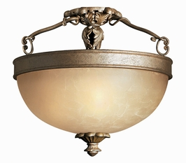 4981PZ Hinkley Lighting Bordeaux Three Light Foyer Semi Flush Mount SPECIAL PRICING!!!