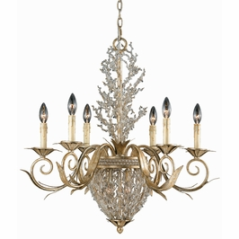 29233 Triarch International 8 Light The Garland Chandelier