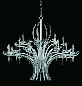 29495 Triarch International 24 Light Entry Chandelier