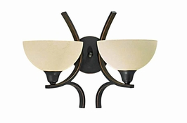 29760/2-Bz Triarch International 2 Light The Luxor Wall Sconce