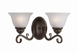 30020/2-Hbz Triarch International 2 Light The Monte Carlo Wall Sconce