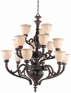 31025 Triarch International 15 Light The Sultan Chandelier