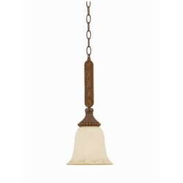 31128 Triarch International 1 Light The Ambassador Mini Pendant