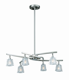 31173 Triarch International 6 Light Milan Chandelier