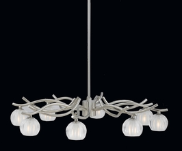 31194 Triarch International 8 Light Cosmo Chandelier