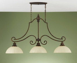 F2191-3FG Murray Feiss Lighting Ashton Manor Collection Chandelier - Billiard SPECIAL PRICING!!!