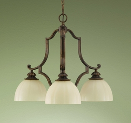 F2192-3FG Murray Feiss Lighting Ashton Manor Collection Chandelier - Kitchen SPECIAL PRICING!!!