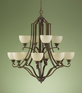 F2196-8-4FG Murray Feiss Lighting Ashton Manor Collection Chandelier SPECIAL PRICING!!!