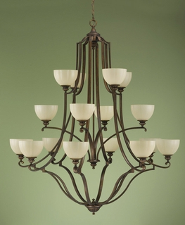 F2197-8-4-4FG Murray Feiss Lighting Ashton Manor Collection Chandelier SPECIAL PRICING!!!