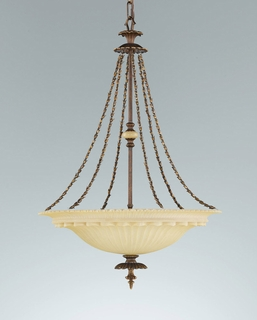 F2205-3FG Murray Feiss Lighting Tres Chic Belle Fluer Collection Chandelier - Up SPECIAL PRICING!!!