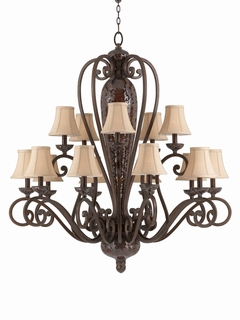 31445 Triarch International 15 Light The Jewelry Chandelier