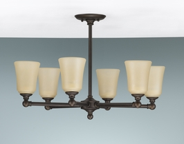 F2232-6ORB Murray Feiss Lighting Huguenot Lake Collection Chandelier SPECIAL PRICING!!!