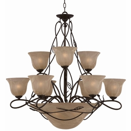 31604 Triarch International 12 Light The Whisper Chandelier
