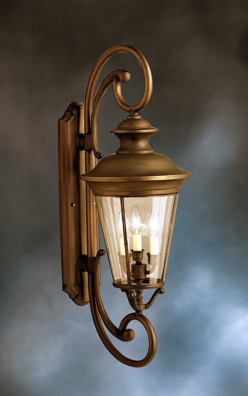 9349OZ Kichler Lighting Eau Claire Outdoor Wall Sconce in Olde ...