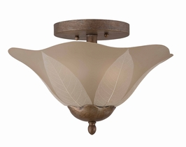 31611 Triarch International 2 Light The Petal Semi Flush