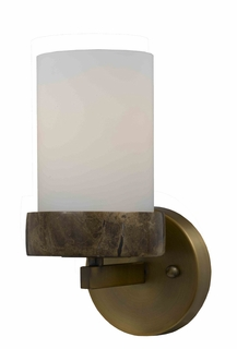 32120/1 Triarch International 1 Light Travertino Sconce