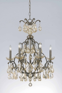 32463 Triarch International 6 Light Versailles Chandelier