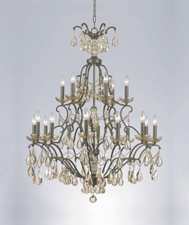 32465 Triarch International 18 Light Versailles 2-Tier (Large) Chandelier