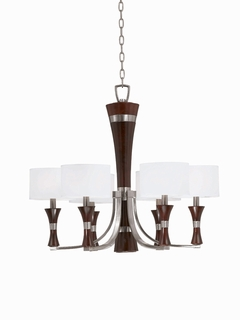 32703 Triarch International 6 Light The Brady Chandelier