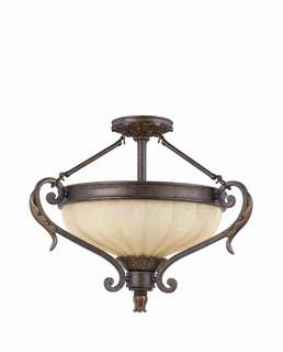 32761-23 Triarch International 3 Light The Venus Semi-Flush Mount (Medium)